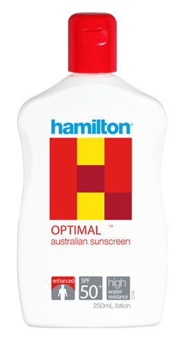 Hamilton Optimal Spf 50+ 250 ml.